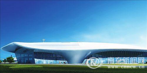 南充机场航站楼改扩建工程是南充市重点工程之一.