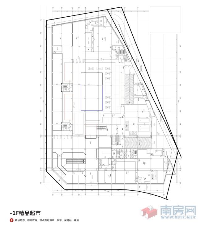 商场格局设计图
