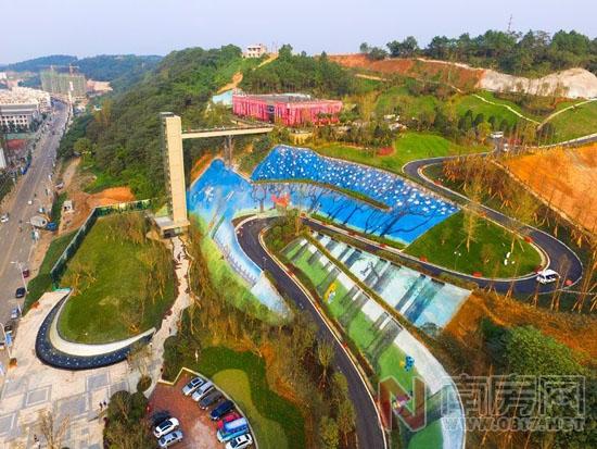 国外健康运动公园设计