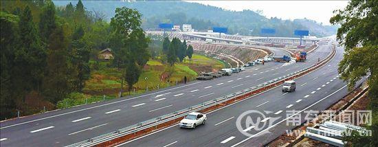 巴南广高速南充段12月底有望通车